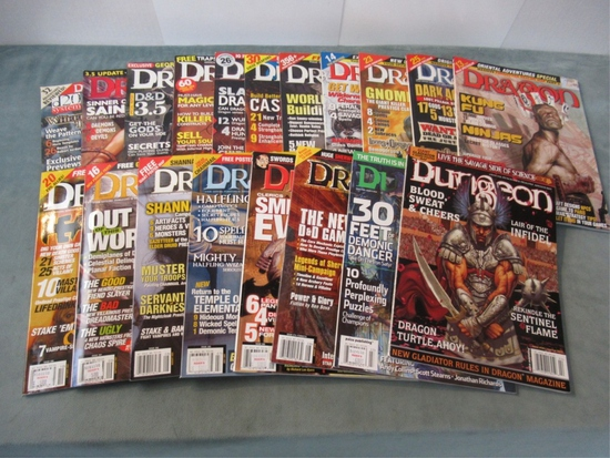Dragon & Dungeon Magazine Lot
