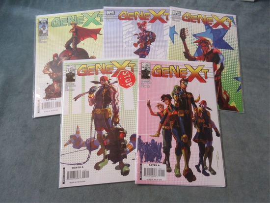 Genext #1-5 Marvel X-Men