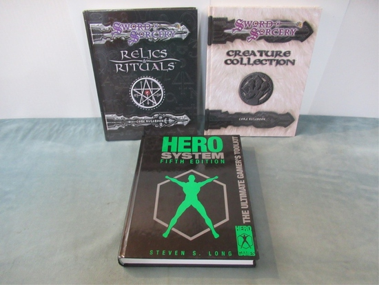 Misc. RPG Book Lot