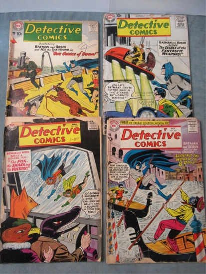 Detective Comics Silver Age Lot of (4)