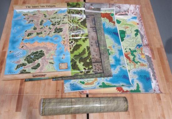 RPG/Gaming Map Lot