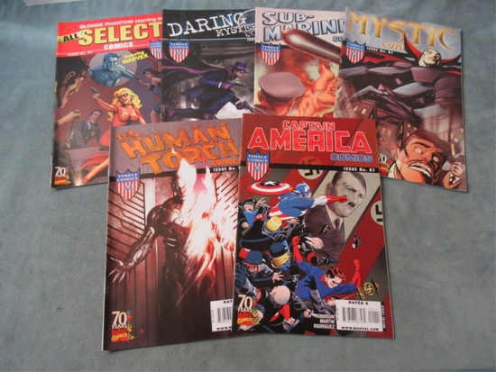 Timely/Marvel 70th Anniversary Comic Lot