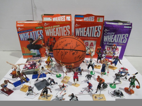 Sports Collectibles Box Lot