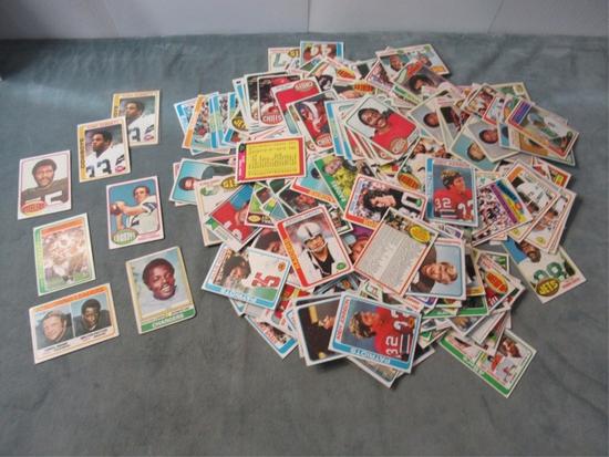 1970s Football Sports Card Lot