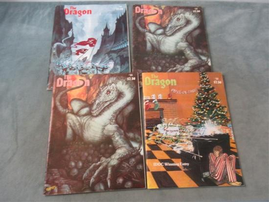 The Dragon #32-34 Lot of (4) - Vintage D&D