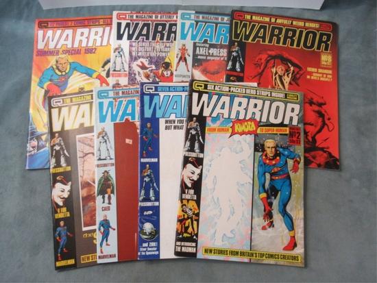 Warrior UK Magazine Lot/V For Vendetta