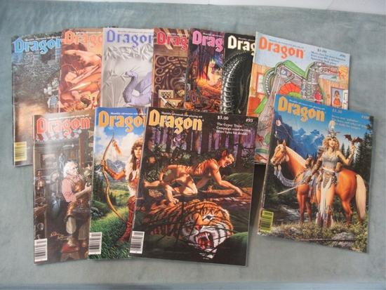 Dragon Magazine #93-102 + 106