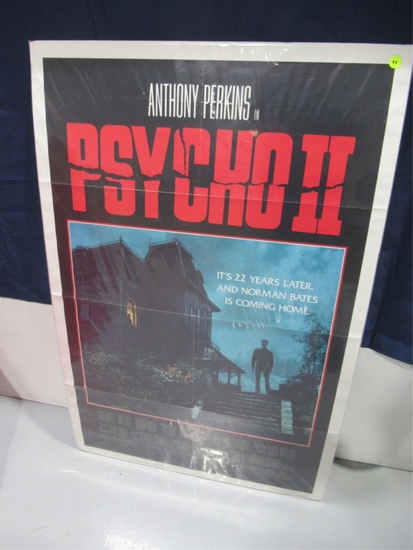 Psycho II Original Onesheet Movie Poster