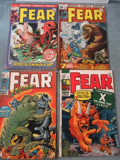 Fear (Adventure Into) #2/3/6/9