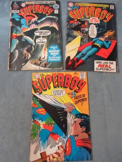 Superboy Silver/Bronze Adams Monster Lot
