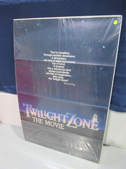 Twilight Zone The Movie Original Onesheet Poster