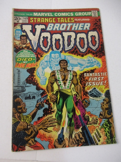 Strange Tales #169/1st Brother Voodoo