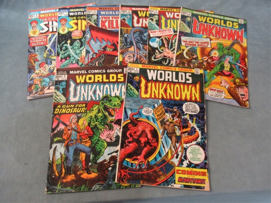Worlds Unknown #1-8 Full Run/Marvel