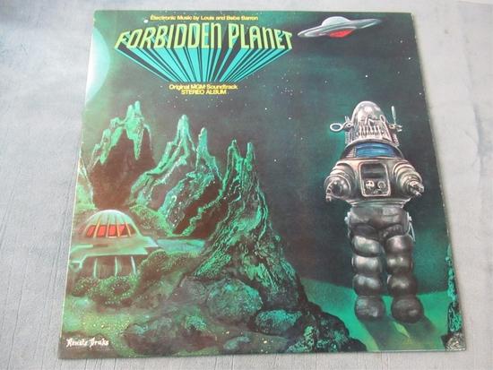 Forbidden Planet Soundtrack Vinyl LP Record