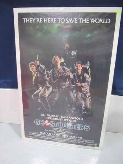 Ghostbusters Original Onesheet Movie Poster