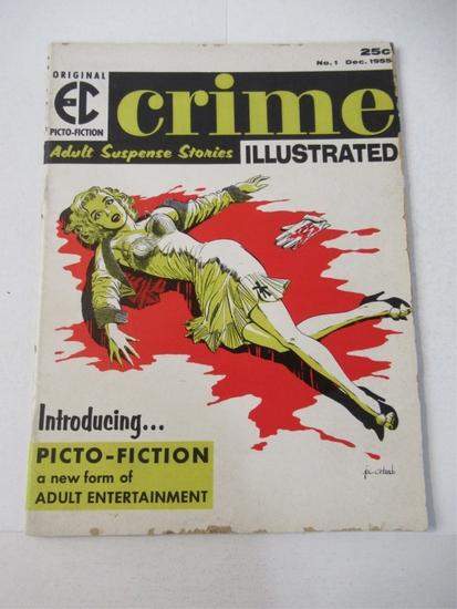 EC Crime Illustrated #1 1955 Picto-Fiction