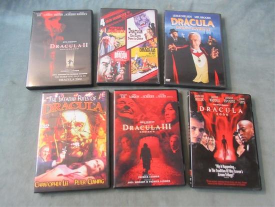 Dracula Movies DVD (Lot of 10)