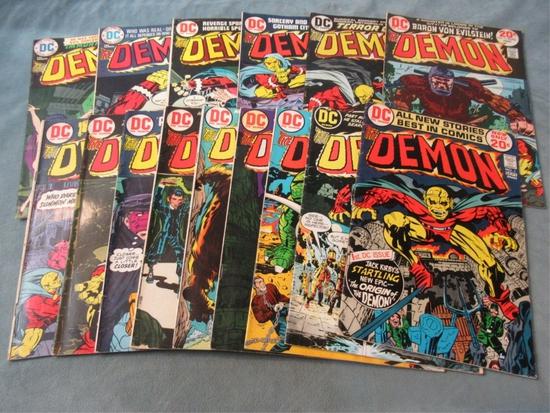 The Demon DC (1972) #1-3 + #5-16/Keys