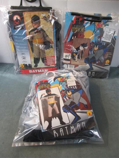 Batman Halloween Costume Lot of (3)