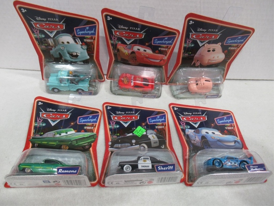 Disney Cars Supercharged Die-Cast Lot of (6)