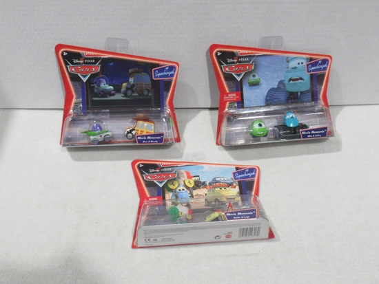 Disney Cars Supercharged Die-Cast 2-Pack Lot of (3)