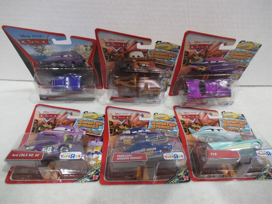 Disney Cars Die-Cast Lot of (6)