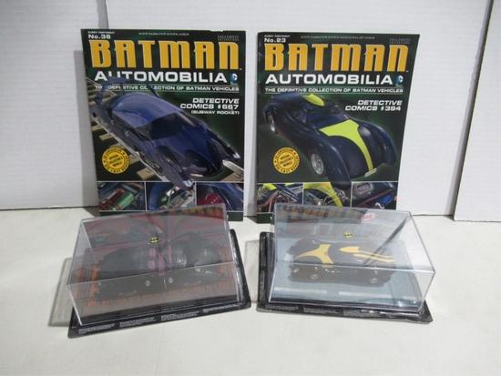 Batmobile Eaglemoss Lot of (2)