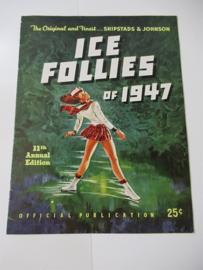 Ice Follies 1947 Program