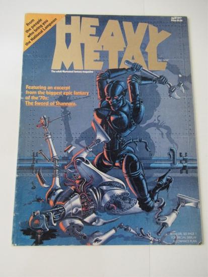 Heavy Metal Magazine #1 April 1977