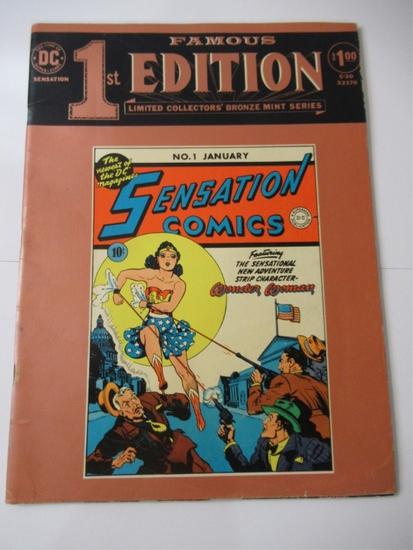 Sensation Comics #1 Famous 1st Edition/DC