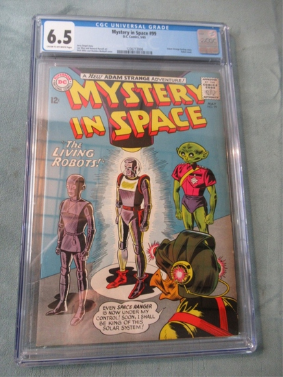 Mystery in Space #99 CGC 6.5 1965