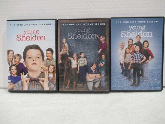 Young Sheldon Seasons 1-3 DVD