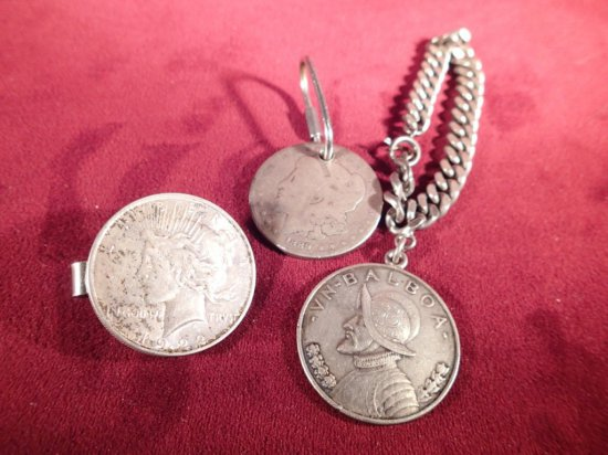 Lot of Coin Jewelry, Etc.