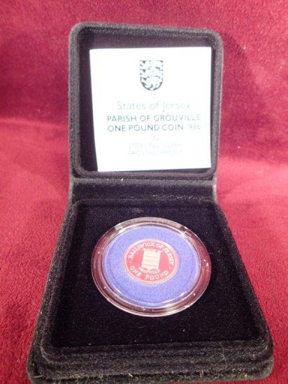 Royal Mint States of Jersey Porish.