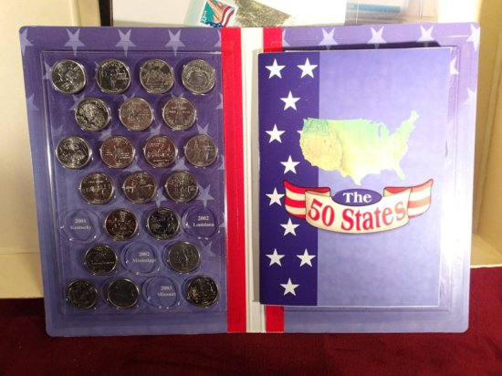 Lot of Postal Covers W/Coin & Medals.
