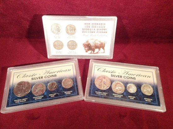 Group of American Coin Sets.