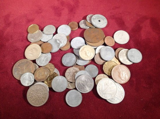 Lot of Misc. Foreign Coins