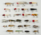 25 Fishing Lures incl Shakespeare