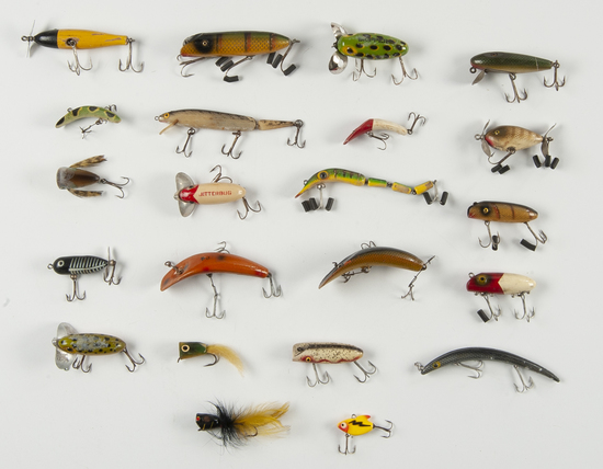 22 Fishing Lures incl Heddon