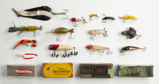 14 Fishing Lures incl OBs