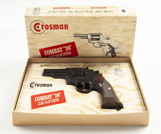 Crosman Model 38C Pellet Gun, .22 Cal.