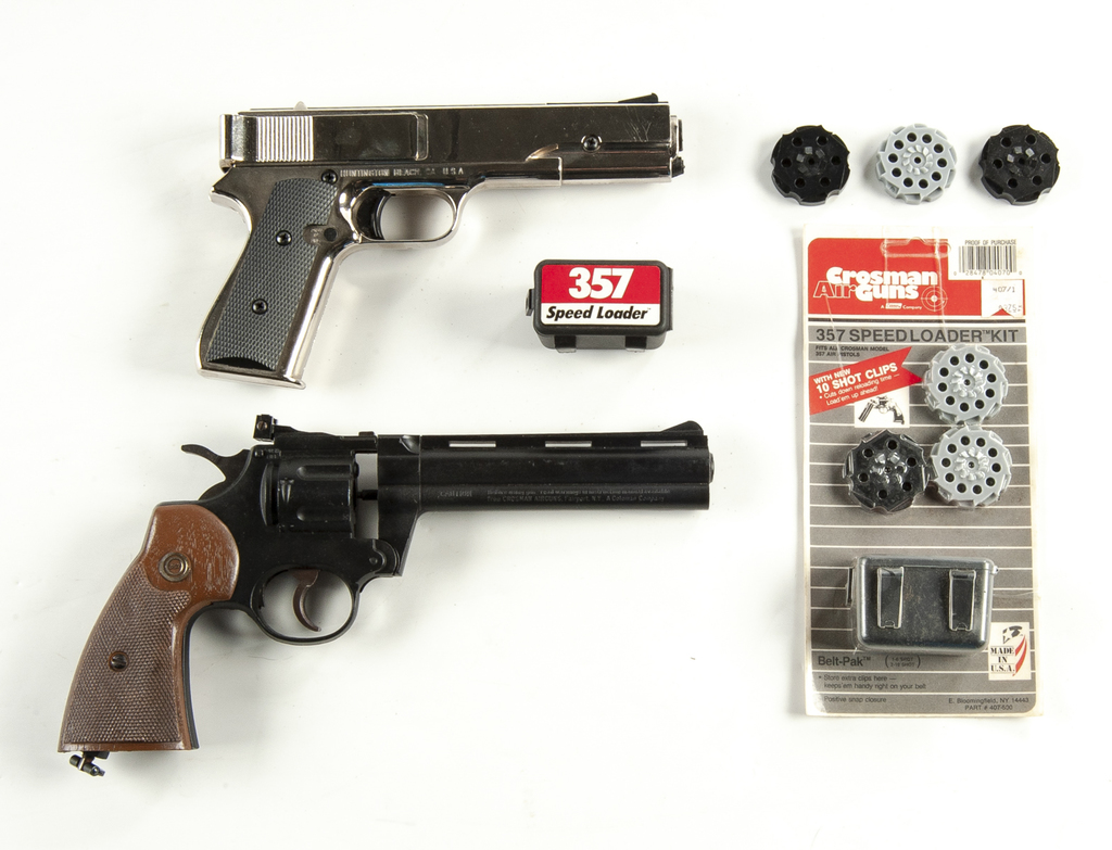 2 Repeater Air Guns & Accessories