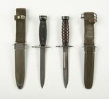 2 US Marked Bayonets