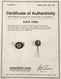 Original NSDAP Membership Pin & Hitler Pin