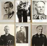 Nine Signed Photos of Noted Nazis