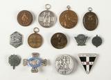 Lot of 13 German Medals, Third Reich