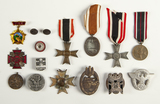 15 of WWI & WWII German Medals