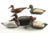 5 Duck Decoys