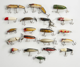 20 Lures incl Heddon, Lucky 13