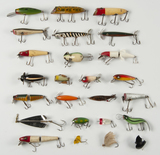 25 Fishing Lures incl Heddon
